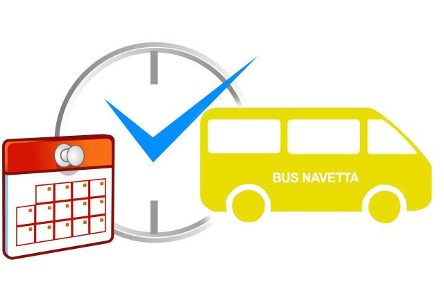 Avviso nuovi giorni e orari Bus navetta SAS MURTAS - POSADA